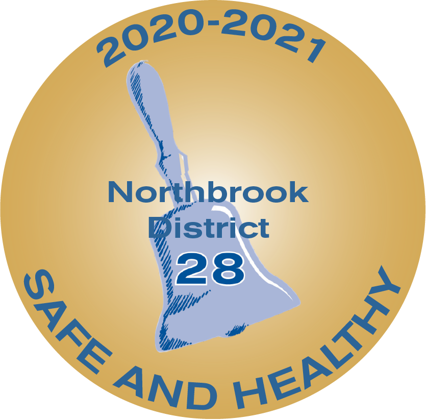 Northbrook District 28 heath and safety logo