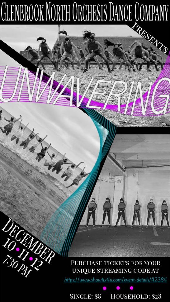 Orchesis show poster 'Unwavering'